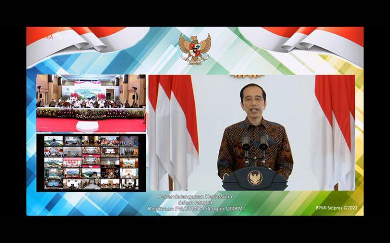 Soal Kerja Sama Investor dengan UMKM, Ini Harapan Jokowi ...
